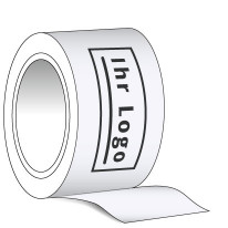 HDPE-Absperrband 1-farbig bedruckt