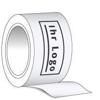 HDPE-Absperrband 3-farbig bedruckt