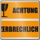 Klebeband ACHTUNG ZERBRECHLICH (orange)
