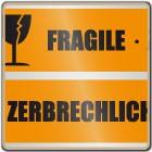 Klebeband FRAGILE ZERBRECHLICH (orange)